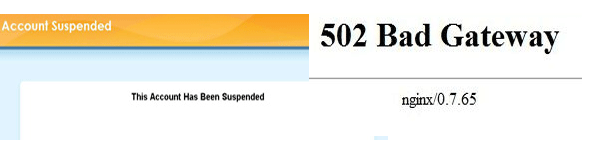 502-Bad-Gateway-vs-account-suspended