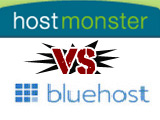 مقارنه بين بلوهوست و هوست مونستر BlueHost vs HostMonster